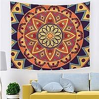 ボヘミアンタペストリーマンダラヒッピー壁掛けサイケデリックな装飾毛布 lutingstore (Color : Tapestry 8, サイズ : 95 CMx73 CM)