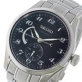 セイコー プレサージュ PRESAGE 自動巻き メンズ 腕時計 SPB043J1 ブラック [並行輸入品]