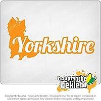 ヨークシャーテリア Yorkshire Terrier 20cm x 10cm 15色 - ネオン+クロム! ステッカービニールオートバイ