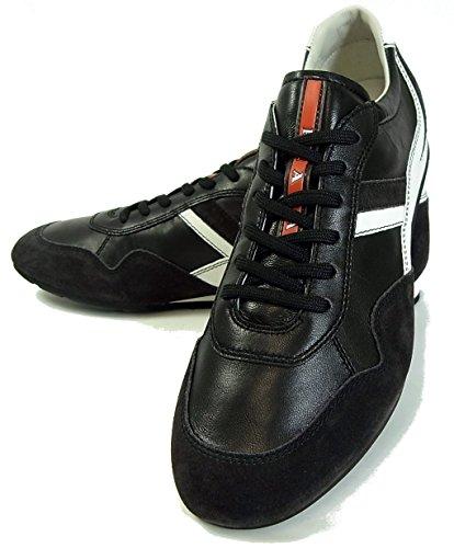 (プラダ)PRADA スポーツ スニーカー メンズ (ブラック) 4E2335 (メーカーサイズ:8.5) PS-4175 [並行輸入品]