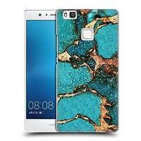 オフィシャル Monika Strigel ターコイズ ジェムストーン&ゴールド ハードバックケース Huawei P9 Lite / G9 Lite