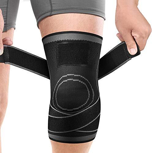 膝サポーター ATKOYO 加压式 スポーツサポーター 医療用 膝 固定 関節 靭帯 サポート 損傷回復 怪我防止 男女 左右兼用 通気性 伸縮性 耐久性 登山 ランニング スポーツ
