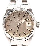 ロレックス 腕時計 オイスターパーペチュアル デイト 6919 自動巻き シルバー ROLEX メンズ 【中古】