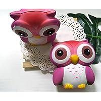 gelaikenかわいいフクロウPU Toy Decompression Owl Toy PU Foamingフクロウ