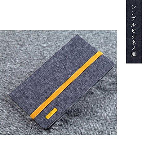 MaxKu NTTドコモ dtab Compact d-01J ケース 布生地+TPU素材 ケース 2017夏モデル d-01J カバー 手帳型 軽量 全面保護型 スタンド機能付き スマートカバー(グレー)