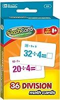 BAZIC Divisionフラッシュカード( 36/パック) 72個SKU # 1875753MA