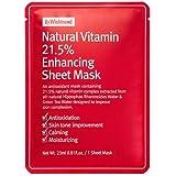 [BY WISHTREND] ナチュラルビタミン21.5エンハンシング シートマスク 10シート, Natural Vitamin 21.5 Enhancing Mask 10 sheets [並行輸入品]
