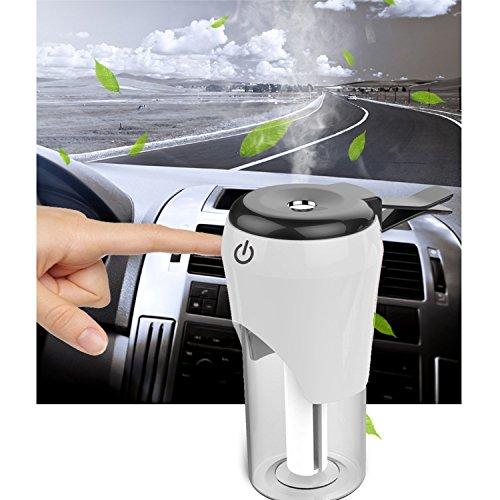 TKSTAR 車用加湿器、車の充電器、空気清浄機3 in 1...