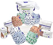 Bambino Mio Miosoft Premium Birth to Potty Pack, Bug's Life, 6725 G