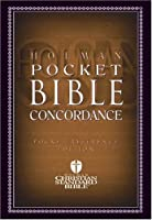Holman Pocket Bible Concordance