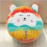 Keaner新生児幼児Roly - PolyおもちゃLargeサイズPear Wavyストライプ漫画人形タンブラーボール枕(キャンディ波)