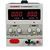 AideTek 直流安定化電源 30V 5A ワニ口テストリード付属 自動冷却ファン