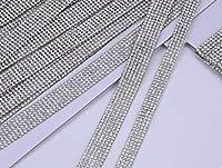 Sweetimes スパンコールテープ リボン スワロフスキータイプ キラキラクリスタル風 手芸用品 スマホデコレーション 各種飾りつけに最適 3サイズ2ヤードNo.146 (幅2.5cm)