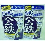 DHC ヘム鉄 60日分 120粒×1袋入×(2ケース)