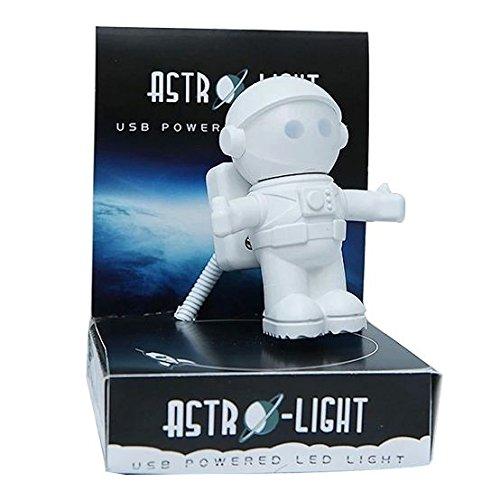 宇宙飛行士 型 LED USBライト 『ASTRO - LIGHT』 ON/OFF 切替可