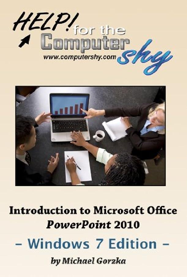 恐れ社交的ピカソIntroduction to Microsoft Office PowerPoint 2010 - Windows 7 Edition