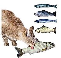 SfHx 猫のおもちゃ またたび 魚おもちゃ ぬいぐるみ 噛む魚玩具 ストレス解消 猫トイ 爪磨き ペット 丈夫 猫遊び 抱き枕 (Color : 30cm)