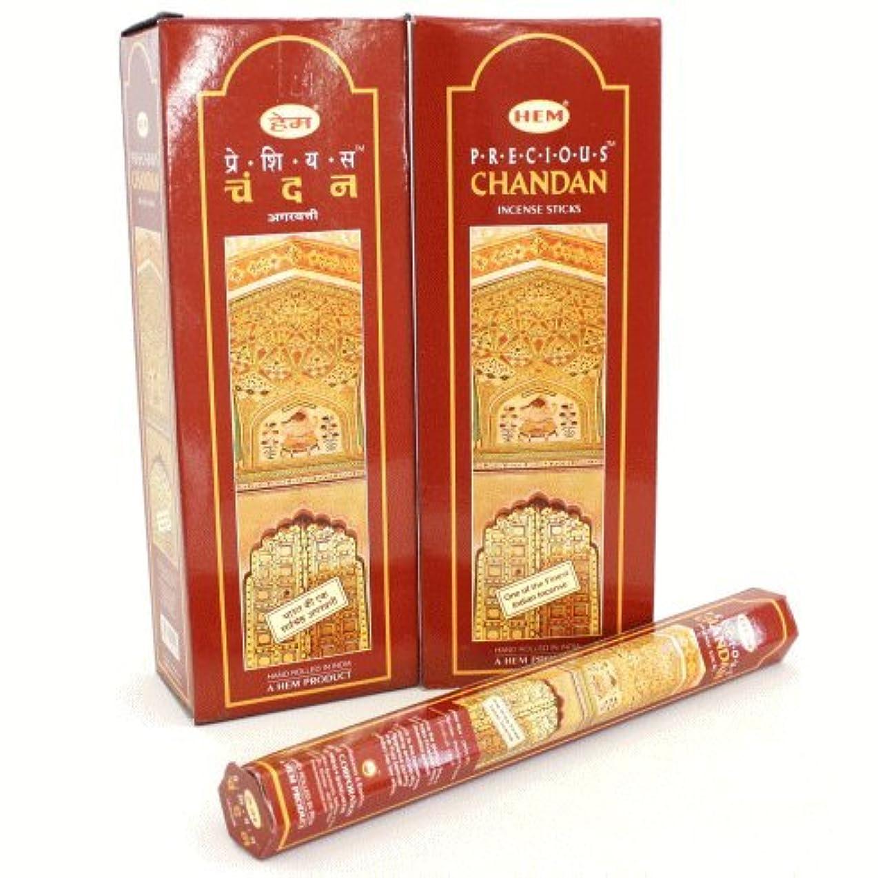 ジェット肉屋バーゲンHEM チャンダン香 スティック ヘキサパック(六角) 12箱セット HEM CHANDAN