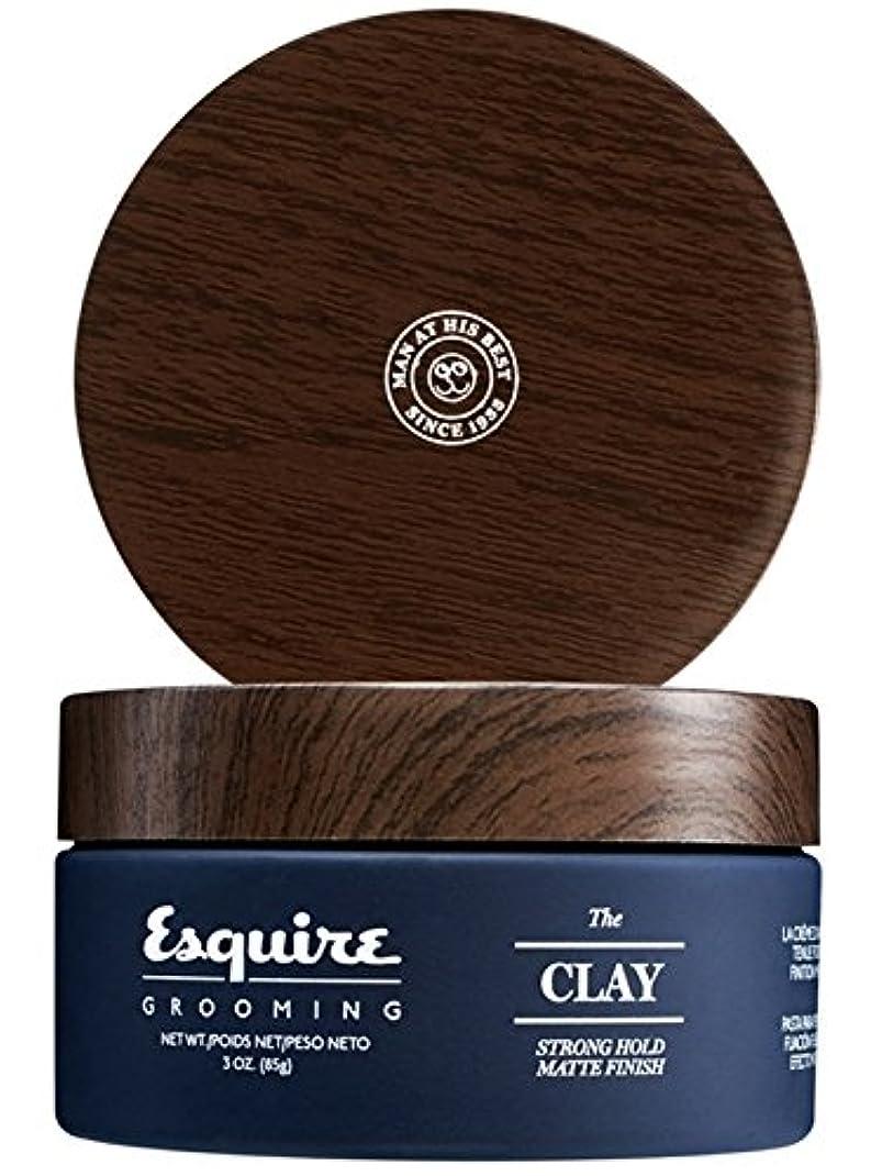 すべきアルファベット順栄光CHI Esquire Grooming The Clay (Strong Hold, Matte Finish) 85g/3oz並行輸入品