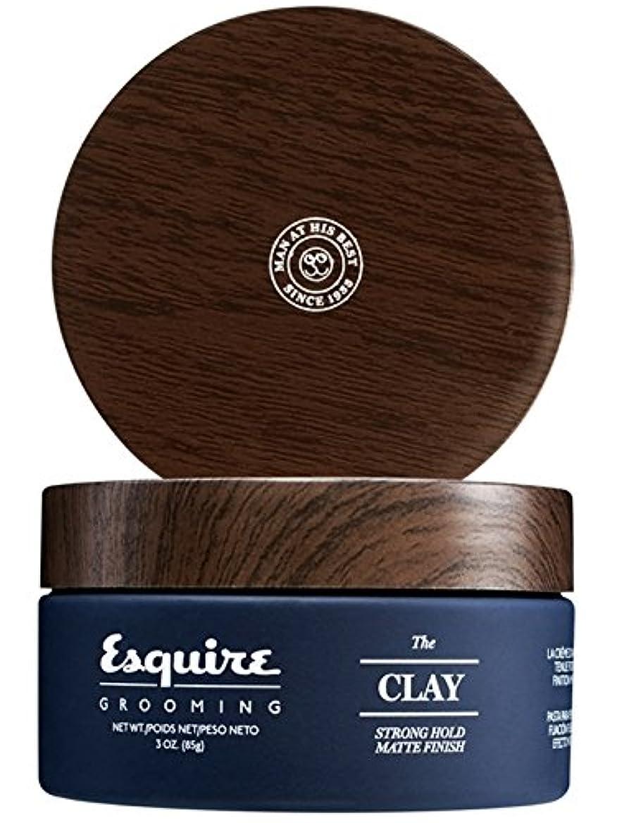 あえて怠感滞在CHI Esquire Grooming The Clay (Strong Hold, Matte Finish) 85g/3oz並行輸入品