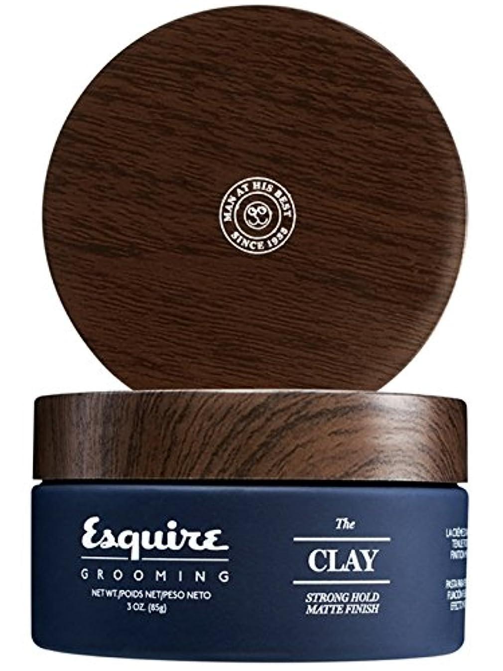 ジュラシックパーク砂利首尾一貫したCHI Esquire Grooming The Clay (Strong Hold, Matte Finish) 85g/3oz並行輸入品