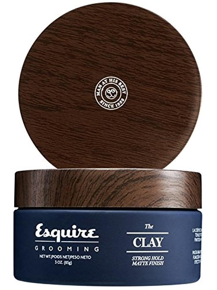 解明する惨めな移動CHI Esquire Grooming The Clay (Strong Hold, Matte Finish) 85g/3oz並行輸入品