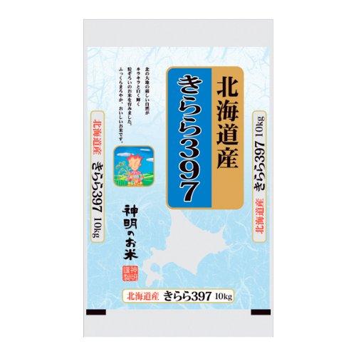 [精米]北海道産 お米 きらら397 10Kg