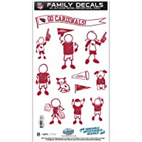 Siskiyou Sports FFMD035 Arizon Cardinals Family Decal Med.