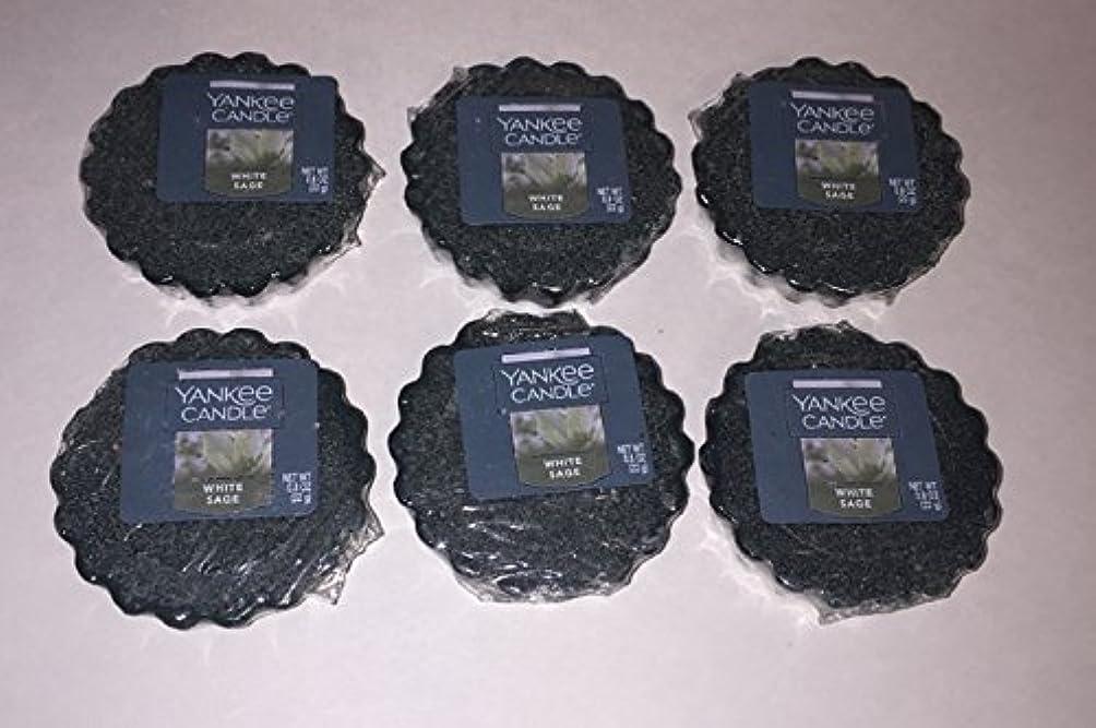 選択能力プロトタイプYankee Candleバンドル6のホワイトセージTartsワックスMelts