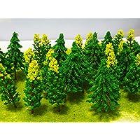 【Good in three directions】もふもふ 大 森林 ビックな2種類 模型 10cm 9㎝ 各50本 100 本 ジオラマ 模型 用 木 樹 Z N ゲージ 2種類- 10cm 9㎝