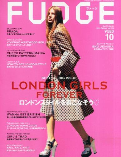 FUDGE (ファッジ) 2013年 10月号 [雑誌]の詳細を見る