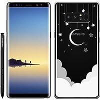 [Breeze-正規品] iPhone ・ スマホケース ポリカーボネイト [透明] Samsung Galaxy NOTE8 ケース SC-01K/SCV37 兼用 ギャラクシーノート8 galaxy note8 ケースカバー 液晶保護フィルム付 全機種対応 [GNT8]