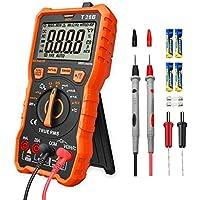 LOMVUM デジタルマルチテスター 6000カウント NCV非接触電圧測定