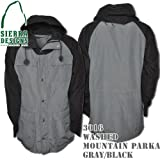 Washed Mountain Parka 3016: Gray / Black