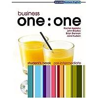 Business One One Pre-Intermediate Student Book