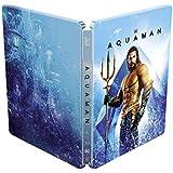 アクアマン 3D+2D ブルーレイ 限定スチールブック仕様 [3D+2D Blu-ray リージョンフリー 日本語有り](輸入版) -Aquaman Blu-Ray 3d + 2d Steelbook-