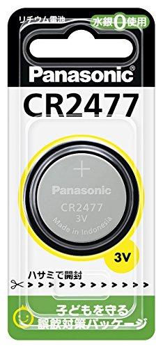 パナソニック リチウム電池 コイン形 1個入 CR2477