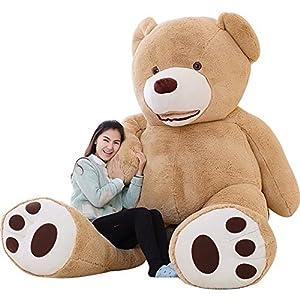 ぬいぐるみ 特大 くま/テディベア 可愛い熊 動物 250cm 大きい/巨大 くまぬいぐるみ/熊縫い包み/クマ抱き枕/お祝い/ふわふわぬいぐるみ (画像通り)