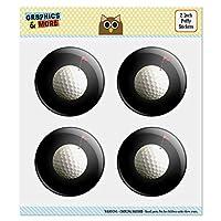 """ゴルフボールムーンフラグゴルフ 2.0""""Puffy Bubble Dome Scrapbooking製作ステッカーセット"""