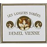 デメル 猫 ラベル ソリッド チョコ ヘーゼルナッツ 濃厚な味わい 猫の舌の形 バレンタイン 猫ラベル ギフト 25枚入