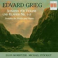 Violin Sonatas 1-3 by Grieg