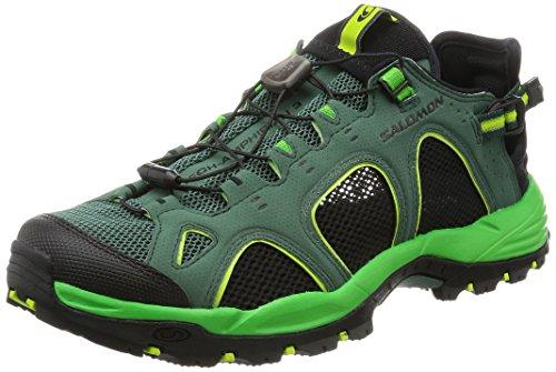 [サロモン] スポーツサンダル TECHAMPHIBIAN 3 L39470400 Bistro Green/CLASSIC GREEN/Lime Green ビストログリーン/クラシックグリーン/ライムグリーン 27.5