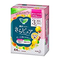 花王 ロリエさらピュア スリムタイプ 3CC スーパークリーングフルーツの香り 44枚×18個(1ケース)