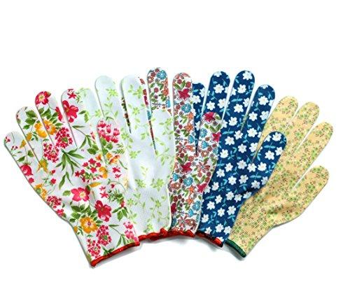 カラフル オシャレ 作業手袋 ワーキング グローブ 5双組 ...