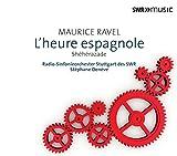ラヴェル:管弦楽作品集 第4集 歌劇「スペインの時」,シェエラザード