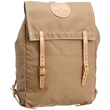 Canoe Back Pack 7278: Khaki Canvas