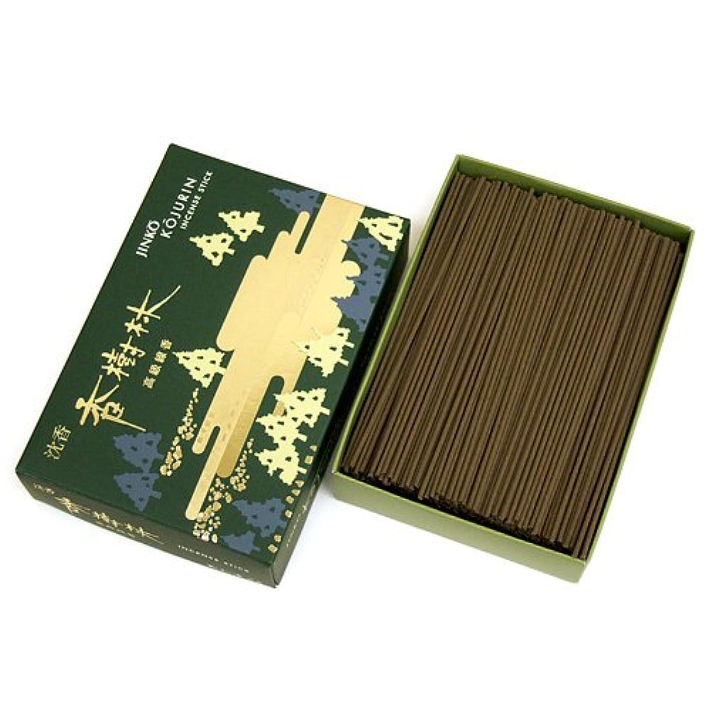家庭用線香 沈香 香樹林 短寸 徳用大型箱(箱寸法15×10.5×3.5cm)◆爽やかな沈香の香りのお線香(玉初堂)