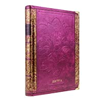 Hardcover Lined Page Notebook 256 Page Writing Journal Diary with Flower Edge Wirebound Composition Notebook 10.2x7.5 [並行輸入品]