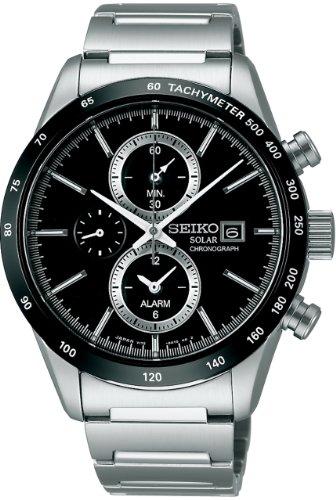 [セイコーウォッチ] 腕時計 スピリット スピリットスマート クロノグラフ ソーラー サファイアガラス SBPY119 シルバー