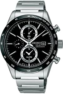 [セイコー]SEIKO 腕時計 SPIRIT SMART スピリットスマート クロノグラフ ソーラー サファイアガラス 日常生活用強化防水 (10気圧) SBPY119 メンズ